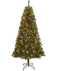St. Nicholas Square 7-ft. Pre-Lit Artificial Christmas Tree,