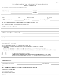 Investigation Form Template Workplace Investigation Template