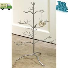 ADORABLE Decorations Metal Christmas Ornament Display Holder Tree Stand 25  inch