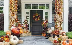front door decorating ideas15 Fall Front Door Decoration Ideas  Garden Lovers Club