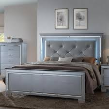 Crown Mark Lillian Queen Headboard and Footboard Bed - Item Number: B7100-Q-