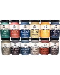 Small Picture Dont Miss This Deal FolkArt Home Decor Chalk Paint Set 8 Ounce