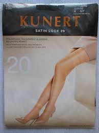 Kunert Satin Look Sheer To Waist Satin Glossy Pantyhose