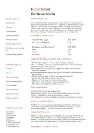 Hairdresser Resume Examples Best of Hair Stylist Resume No Experience Hairsjdiorg