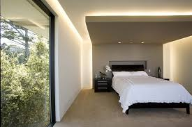 cove lighting ideas. Trendy Master Carpeted Bedroom Photo In San Francisco With Gray Walls Cove Lighting Ideas