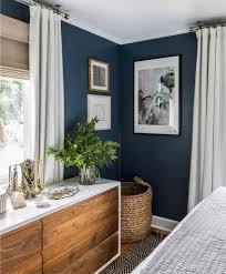 Blaue Wand Im Schlafzimmer Inspiration Interior Einrichtung