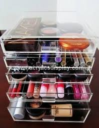 acrylic mac makeup beauty case box