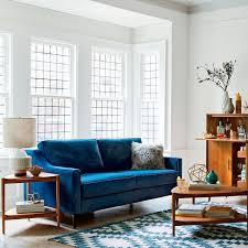 blue velvet couch for sale. Exellent Sale Sofa Surprising Velvet Sleeper Sofa Blue Couch For Sale Dark  Cushion Wooden On E