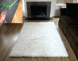 innovative furry area rugs faux fur white marvelous pictures of handmade solid