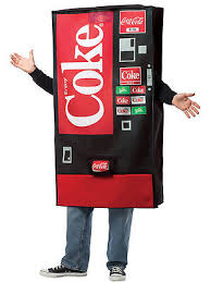 Vending Machine Costume Gorgeous Vending Machine Halloween Costume Collection On EBay