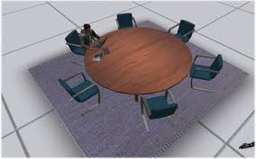 round office desk. circular desk office meeting room round table seats 6 avatars o
