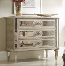 Living Room Antique Furniture Hooker Furniture Living Room Three Drawer Antique Mirrored Chest