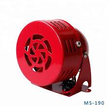 <b>DC12V DC24V</b> AC110V <b>AC220V</b> Electric Motor Alarm Siren MS-190 ...