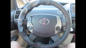 how to install genuine leather steering wheel cover part 1
