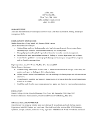 Market Research Resume Sample. top market research executive ...