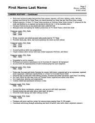 Television Master Controller Resume Template Premium Resume