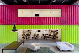 kogan furniture. 22 Most Beautiful Houses Made From Shipping Containers : Painted Decameron Marcio Kogan Interiors Furniture