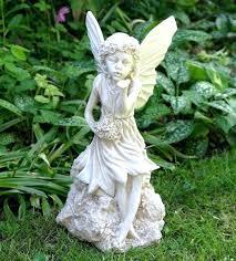 garden fairies statues. Sitting Garden Fairy Fairies Statue Image Detail For Ornaments Statues Stone .