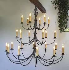 staggering ace wrought iron custom large wrought iron chandelier inch large metal drum chandelier