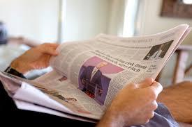 نتيجة بحث الصور عن The Return of the Newspaper