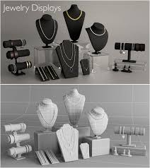 How To Make Jewelry Stands And Displays Extraordinary Jewelry Displays By Tml322a 32DOcean