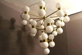 west elm glass orb chandelier glass orb chandelier clear sphere uptown 3 light globe pendant west