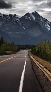 Road To Mountains Hd Wallpaper ...