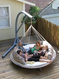 Portable stand for Floating Bed: An old naps up no problem! | Home Decor |  Pinterest | Floating bed, Hanging beds and Backyard