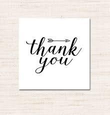 Thank You Black And White Printable Free Printable Black And White Arrow Thank You Tags La La
