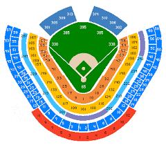 Dodger Stadium Seating Chart Game Information