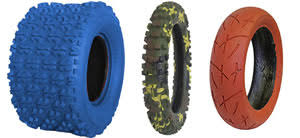 Color Tires For Mx Scooters And Atvs