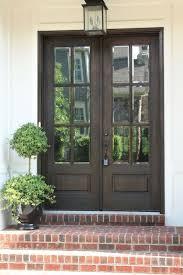 double front door. Doors, Double Front Entry Doors Fiberglass With Glass Dark Wood French Door D
