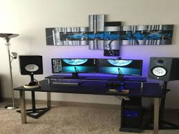brilliant simple desks. Brilliant Computer Desk Setup With Cool Gaming Room Ideas Best Setups Simple Desks R