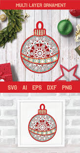 Download free christmas ornament vectors and other types of christmas ornament graphics and clipart at freevector.com! Pin On Svg Cutting Files Cricut Silhouette Cut Files