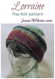 Knit Ear Warmer Pattern Amazing Lorraine Free Knit Ear Warmer Pattern Jessie At Home