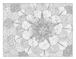 Intricate Coloring Book Pages L