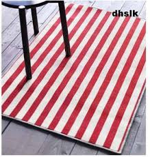 red striped rug orange and white striped outdoor rug