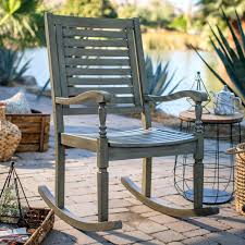 adams mfg corp earth brown resin stackable patio rocking chair inspiration outdoor patio rocking chairs inspiration