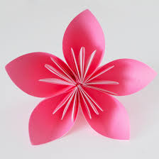 Flower Made By Paper Folding Origami Flower 1 Paper Paper Folding Origami Flower Idealvistalistco
