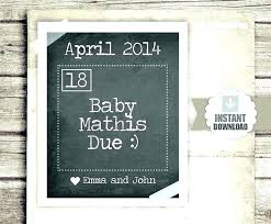 Pregnancy Announcement Printables Free Digital Pregnancy Announcement Templates Templates
