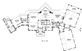 Featured House Plan  PBH     Professional Builder House PlansMain Floor Plan image of Featured House Plan  PBH
