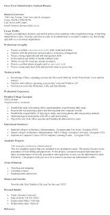 Administrative Assistant Summary Statement Resume Objective Vs