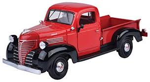 motormax 1 24 1941 plymouth pickup cast vehicle