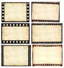 Film Strips Pictures Close Up Of Vintage Movie Film Strips Stock Photo Picture And