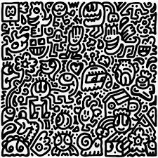 Art Doodle Intricate Doodle Art Goes Off The Page And Invade 3d Spaces