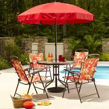 perfect folding patio set set fresh at fireplace collection essential garden folding 6pc patio set fl