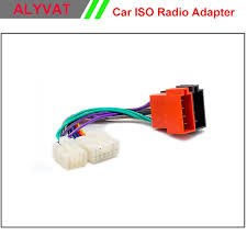 popular lexus wire harness buy cheap lexus wire harness lots from car iso stereo wiring harness for toyota lexus daihatsu adapter connector auto radio adaptor lead loom
