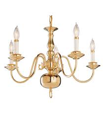 trans globe lighting 1005 1 pb williamsburg 5 light 23 inch polished brass chandelier