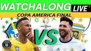Brazil vs Argentina LIVE Watchalong ...