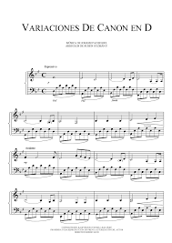 pachelbel canon violin sheet music free sheet music pachelbel johann variation on canon in d